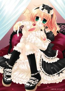 Rating: Safe Score: 22 Tags: gothic_lolita lolita_fashion sakurazawa_izumi User: cyanoacry