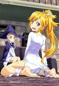 Rating: Safe Score: 84 Tags: fantasista_doll feet nagasaku_tomokatsu pantsu proto-zero sasara witch User: drop