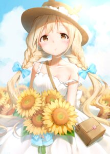 Rating: Safe Score: 59 Tags: dress futaba_anzu shiratama_akane summer_dress the_idolm@ster the_idolm@ster_cinderella_girls User: Mr_GT