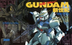 Rating: Safe Score: 4 Tags: gundam mecha sano_hirotoshi victory_gundam User: Radioactive