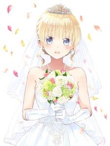 Rating: Safe Score: 36 Tags: dress juliet_persia kishuku_gakkou_no_juliet napou1031 tagme wedding_dress User: saemonnokami