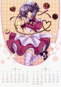 Rating: Safe Score: 20 Tags: calendar carnelian lolita_fashion maid thighhighs User: admin2