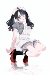 Rating: Questionable Score: 29 Tags: eyepatch heels nurse shiomi_(lowrise) User: Dreista