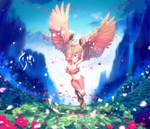 Rating: Safe Score: 34 Tags: monster_girl tokonatu wings User: Hentar