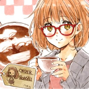 Rating: Safe Score: 38 Tags: kuriyama_mirai kyoukai_no_kanata megane tagme User: Radioactive