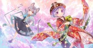 Rating: Safe Score: 19 Tags: animal_ears asian_clothes nazrin neme sukuna_shinmyoumaru tail touhou User: Mr_GT