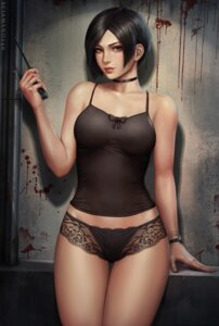 Rating: Questionable Score: 58 Tags: ada_wong cleavage lingerie mirco_cabbia pantsu resident_evil see_through User: Spidey