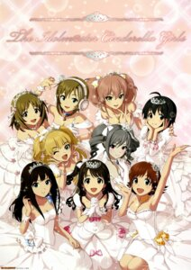 Rating: Safe Score: 42 Tags: dress headphones honda_mio jougasaki_mika jougasaki_rika kanzaki_ranko kohinata_miho mimura_kanako shibuya_rin shimamura_uzuki tada_riina the_idolm@ster the_idolm@ster_cinderella_girls wedding_dress User: Radioactive