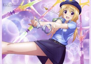 Rating: Safe Score: 63 Tags: charlotte_dunois infinite_stratos police_uniform yamamoto_shuuhei User: drop