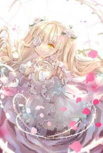 Rating: Safe Score: 23 Tags: dress eyepatch gothic_lolita kirakishou lolita_fashion rozen_maiden yumeichigo_alice User: Mr_GT
