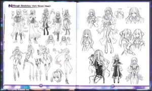 Rating: Safe Score: 7 Tags: choujigen_game_neptune crease heels sketch sword User: Karm80