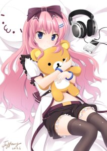 Rating: Safe Score: 29 Tags: headphones jeffery thighhighs User: dyj