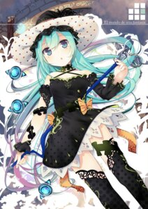 Rating: Safe Score: 75 Tags: dress nmaaaaa thighhighs User: lichtzhang