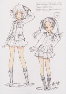 Rating: Safe Score: 13 Tags: akiyama_yukari girls_und_panzer kadotani_anzu oyari_ashito shoujo_kishidan sketch tagme uniform User: Radioactive