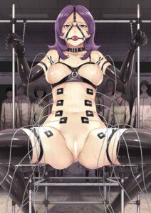 Rating: Explicit Score: 17 Tags: bondage bottomless breasts censored garter hakaba lingerie nipples pussy thighhighs wet User: Mr_GT