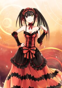 Rating: Questionable Score: 94 Tags: cleavage date_a_live dress heterochromia lolita_fashion mmrailgun tokisaki_kurumi User: tbchyu001