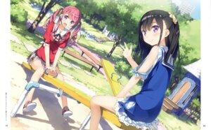 Rating: Safe Score: 52 Tags: kantoku kurumi_(kantoku) shizuku_(kantoku) User: Twinsenzw