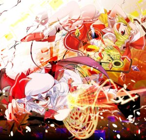Rating: Safe Score: 6 Tags: flandre_scarlet porurin remilia_scarlet touhou User: fairyren