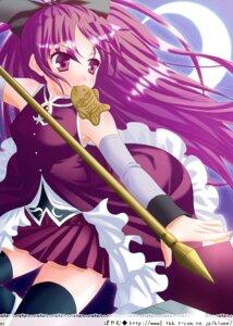 Rating: Safe Score: 11 Tags: poyamu puella_magi_madoka_magica sakura_kyouko thighhighs User: Hatsukoi