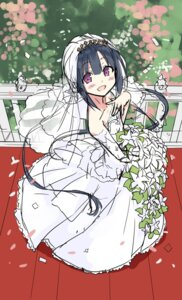 Rating: Safe Score: 32 Tags: cura dress hayase_fukami lose maitetsu sketch wedding_dress User: moonian