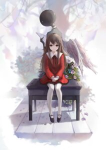 Rating: Safe Score: 55 Tags: deemo deemo_(character) dress little_girl pantyhose sishenfan wings User: charunetra
