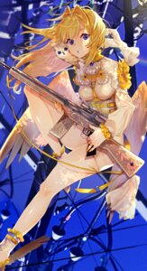 Rating: Questionable Score: 27 Tags: angel gun mishasimarina0130 tagme thighhighs wings User: lounger