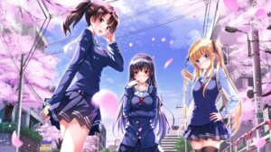 Rating: Safe Score: 57 Tags: kasumigaoka_utaha katou_megumi saenai_heroine_no_sodatekata sawamura_spencer_eriri seifuku swordsouls thighhighs wallpaper User: RyuZU