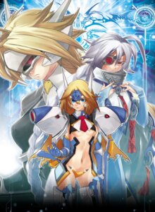 Rating: Safe Score: 23 Tags: blazblue lambda-11 mecha_musume mu-12 v-13 User: Radioactive