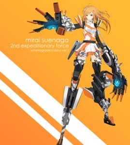 Rating: Safe Score: 17 Tags: armor culture_japan mecha_musume suenaga_mirai tagme thighhighs User: Radioactive