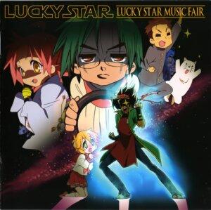 Rating: Safe Score: 6 Tags: anime_tenchou anizawa_meito cropme iwasaki_minami kogami_akira lucky_star megane parody patricia_martin seifuku shiraishi_minoru star_wars User: Radioactive