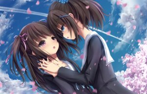 Rating: Safe Score: 56 Tags: apple228 seifuku yuri User: blooregardo