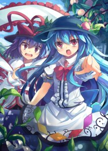 Rating: Safe Score: 31 Tags: hinanawi_tenshi kazami_chiu nagae_iku touhou User: Mr_GT