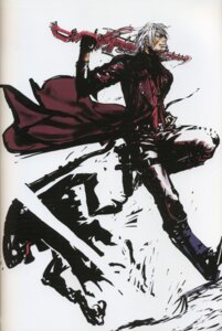 Rating: Safe Score: 6 Tags: binding_discoloration dante devil_may_cry male sword tsuchibayashi_makoto User: soryuurengazan