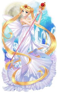 Rating: Safe Score: 25 Tags: dress felicia-val sailor_moon tsukino_usagi weapon User: Mr_GT