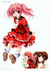 Rating: Safe Score: 17 Tags: dress kashima_kiyomi kishi_aimi miyama-zero princess_brave princess_bride User: midzki
