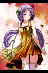 Rating: Safe Score: 25 Tags: dress s-syogo stockings thighhighs touhou tsukumo_benben User: charunetra