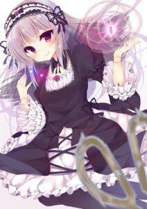 Rating: Safe Score: 54 Tags: gothic_lolita irone_(miyamiya38) lolita_fashion pantyhose rozen_maiden suigintou User: Mr_GT