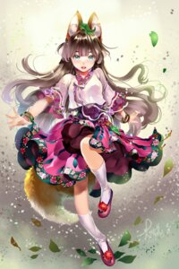 Rating: Safe Score: 38 Tags: animal_ears chushengdao kitsune tail User: Mr_GT