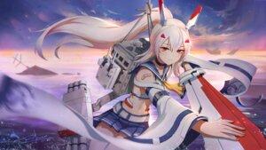 Rating: Safe Score: 22 Tags: ayanami_(azur_lane) azur_lane bandaid moonofmonster seifuku sword thighhighs User: charunetra