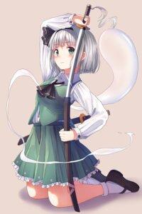 Rating: Safe Score: 20 Tags: enuni konpaku_youmu myon sword touhou User: Mr_GT