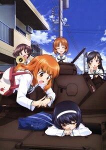 Rating: Safe Score: 16 Tags: akiyama_yukari girls_und_panzer isuzu_hana nishizumi_miho reizei_mako seifuku takebe_saori User: drop