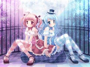 Rating: Safe Score: 75 Tags: lolita_fashion stockings takano_yuki thighhighs wallpaper User: van