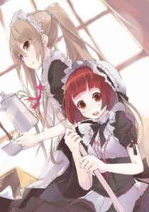 Rating: Safe Score: 27 Tags: akai_ringo chanchan maid ookami_ryouko ookami-san User: blooregardo