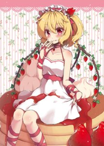 Rating: Safe Score: 25 Tags: beni_kurage cream dress flandre_scarlet touhou wings User: Mr_GT