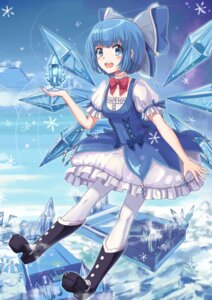 Rating: Safe Score: 24 Tags: cirno dress heels huanghyy pantyhose touhou wings User: Mr_GT