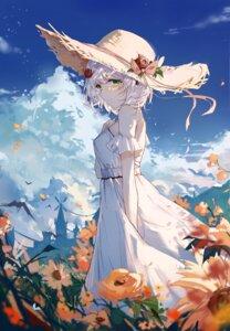 Rating: Questionable Score: 38 Tags: dress genshin_impact no_bra noelle_(genshin_impact) summer_dress yajuu User: Mr_GT