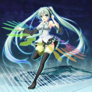 Rating: Safe Score: 19 Tags: hatsune_miku mizukoshi_mayu thighhighs vocaloid User: fairyren
