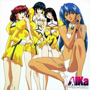 Rating: Questionable Score: 16 Tags: agent_aika cleavage disc_cover erect_nipples pantsu sumeragi_aika User: slovar