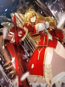 Rating: Safe Score: 4 Tags: armor cleavage fate/grand_order see_through sketch sword tagme User: kiyoe