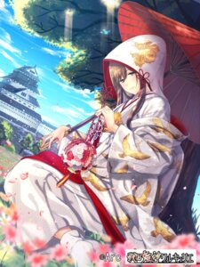 Rating: Safe Score: 24 Tags: beniimo_danshaku kimono umbrella User: mash